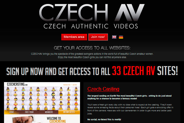 Greatest premium sex website that bring to you the hottest Czech porn movies