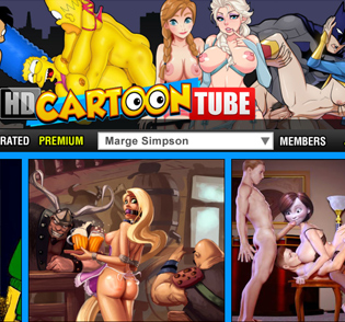 HD Cartoon Tube