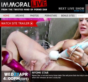 Best paid xxx website if you're into hot live show material