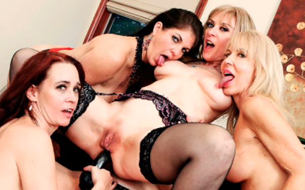 Popular paid adult site to watch hot lesbian orgy videos