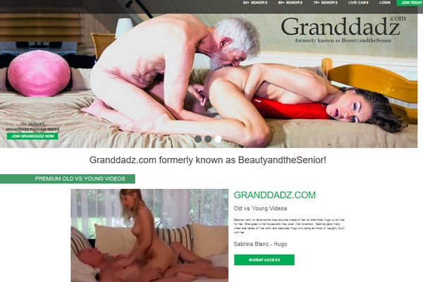 Popular pay porn site if you like sex between old dudes and fresh girls