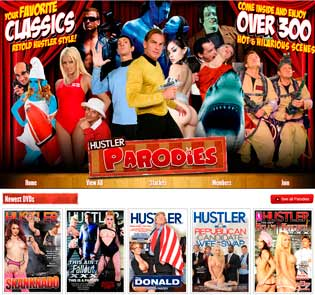 Nice premium adult website to watch porn parodies of famous movies