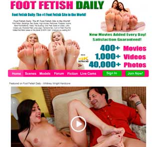 Top paid adult website if you like to watch feet fetish porn films