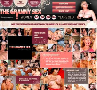 Popular paid sex site featuring granny porn stuff