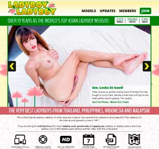 Popular paid adult website with tons of hardcore ladyboy porn movies